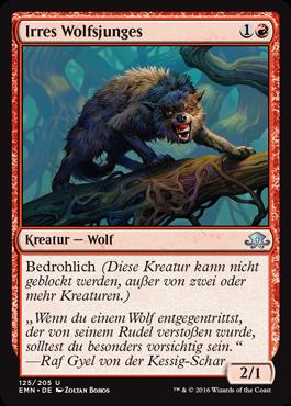 Irres Wolfsjunges