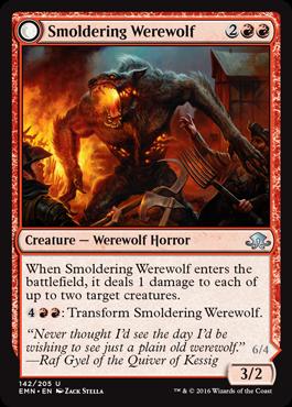 《くすぶる狼男/Smoldering Werewolf》