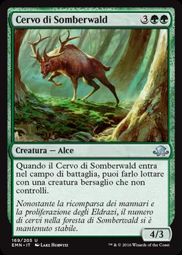 Cervo di Somberwald