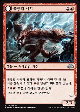 폭풍의 사자