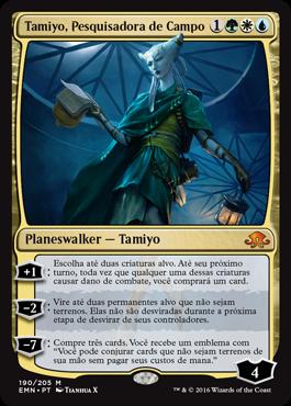 Tamiyo, Pesquisadora de Campo