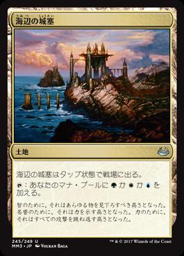 海辺の城塞