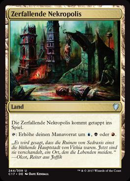 Zerfallende Nekropolis