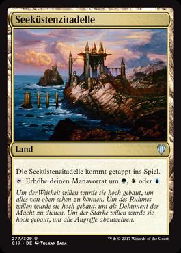 Seeküstenzitadelle