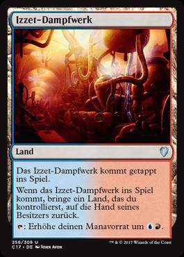 Izzet-Dampfwerk