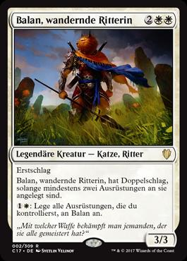 Balan, wandernde Ritterin