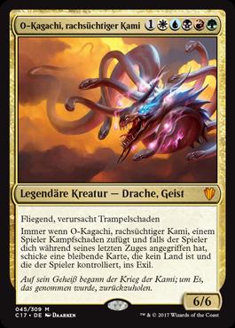 O-Kagachi, rachsüchtiger Kami