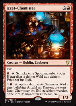 Izzet-Chemister