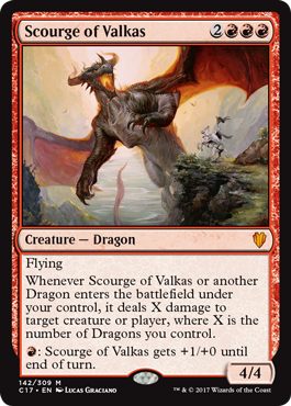 Scourge of Valkas (Commander 2017 Edition)
