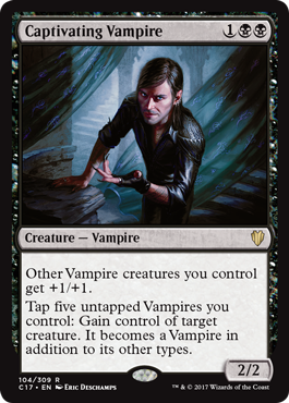 Captivating Vampire (Commander 2017 Edition)