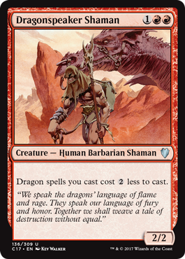 Dragonspeaker Shaman (Commander 2017 Edition)