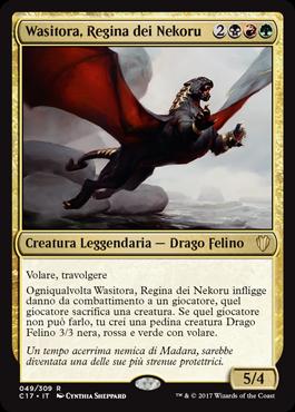 Wasitora, Regina dei Nekoru