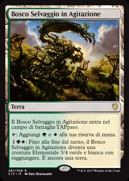 Bosco Selvaggio in Agitazione