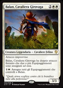 Balan, Cavaliera Girovaga