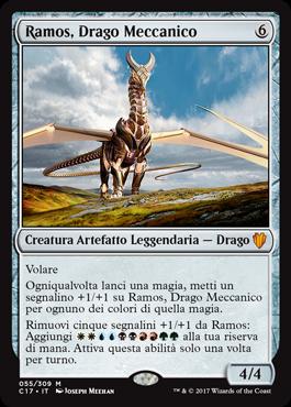Ramos, Drago Meccanico
