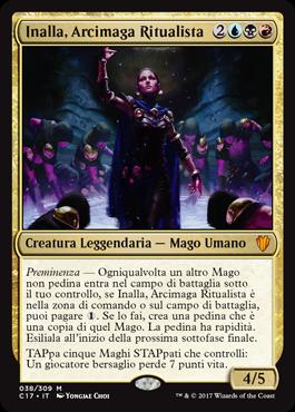 Inalla, Arcimaga Ritualista