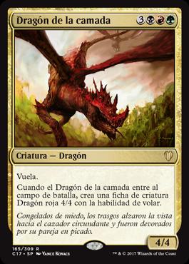 Dragón de la camada