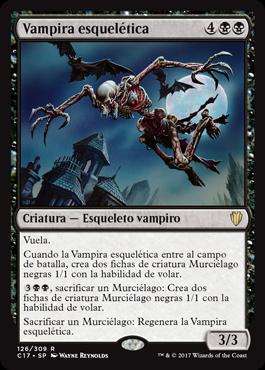 Vampira esquelética