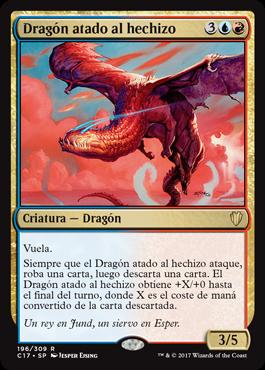 Dragón atado al hechizo