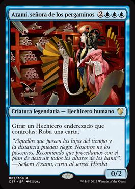 Azami, señora de los pergaminos