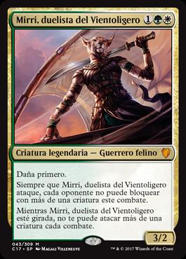 Mirri, duelista del Vientoligero