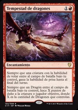 Tempestad de dragones