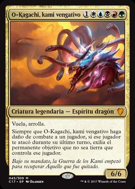 O-Kagachi, kami vengativo