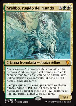 Arahbo, rugido del mundo
