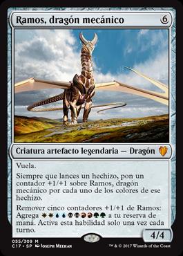 Ramos, dragón mecánico