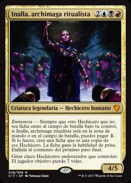 Inalla, archimaga ritualista
