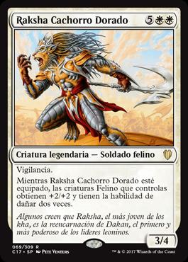 Raksha Cachorro Dorado