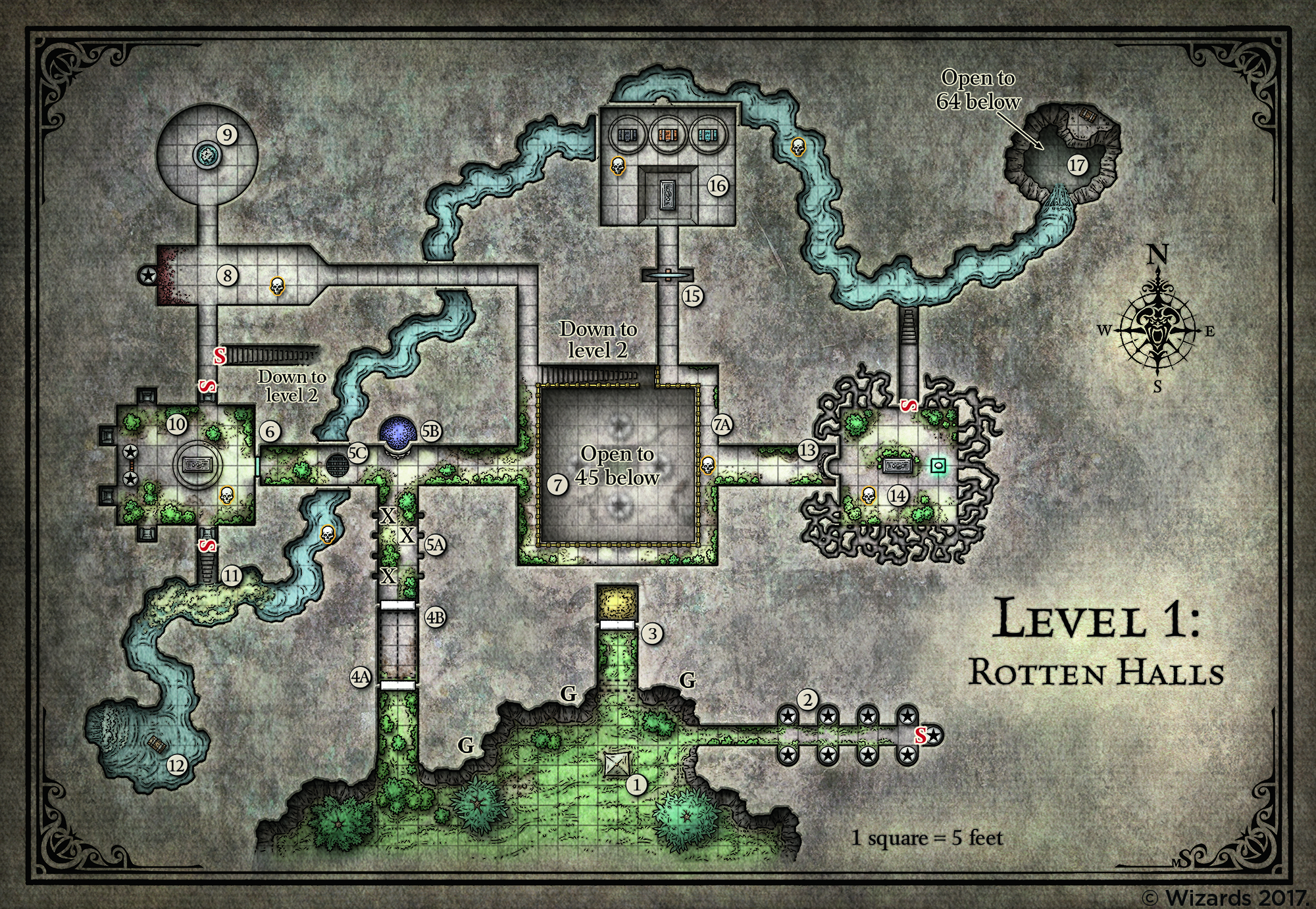 All Freely Available Tomb Of Annihilation Maps Dnd