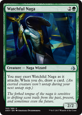 Watchful Naga