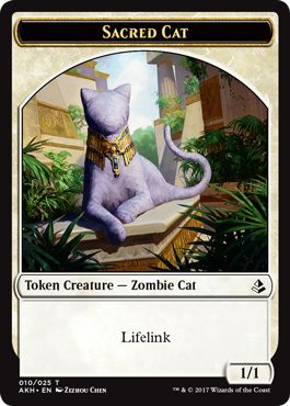 Sacred Cat Token