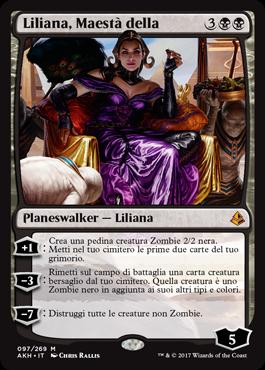 Liliana, Maestà della Morte