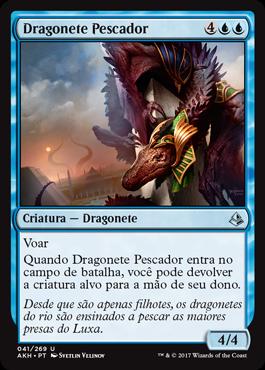 Dragonete Pescador