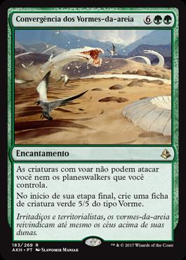 Convergência dos Vormes-da-areia
