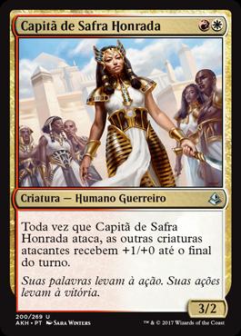 Capitã de Safra Honrada