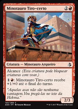 Minotauro Tiro-certo