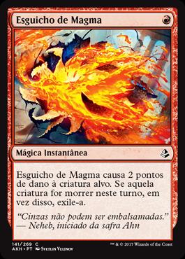 Esguicho de Magma