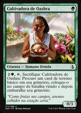 Cultivadora de Oashra