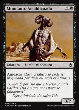 Minotauro Amaldiçoado
