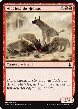 Alcateia de Hienas