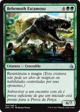 Behemoth Escamoso
