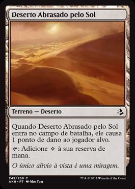 Deserto Abrasado pelo Sol