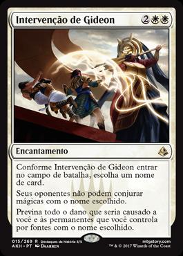 Intervenção de Gideon