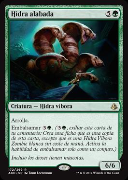 Hidra alabada