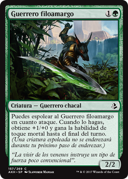 Guerrero filoamargo