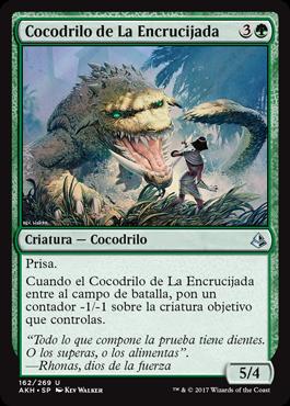 Cocodrilo de La Encrucijada