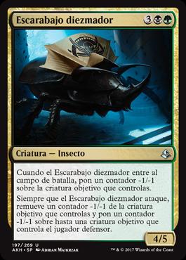 Escarabajo diezmador